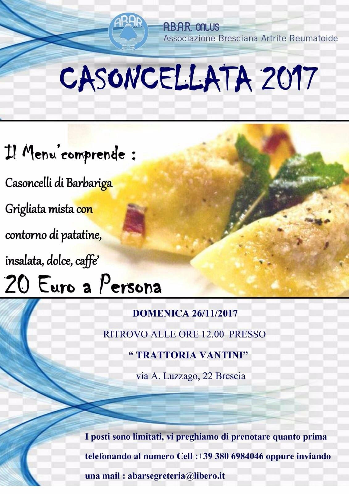 CASONCELLATA 2017