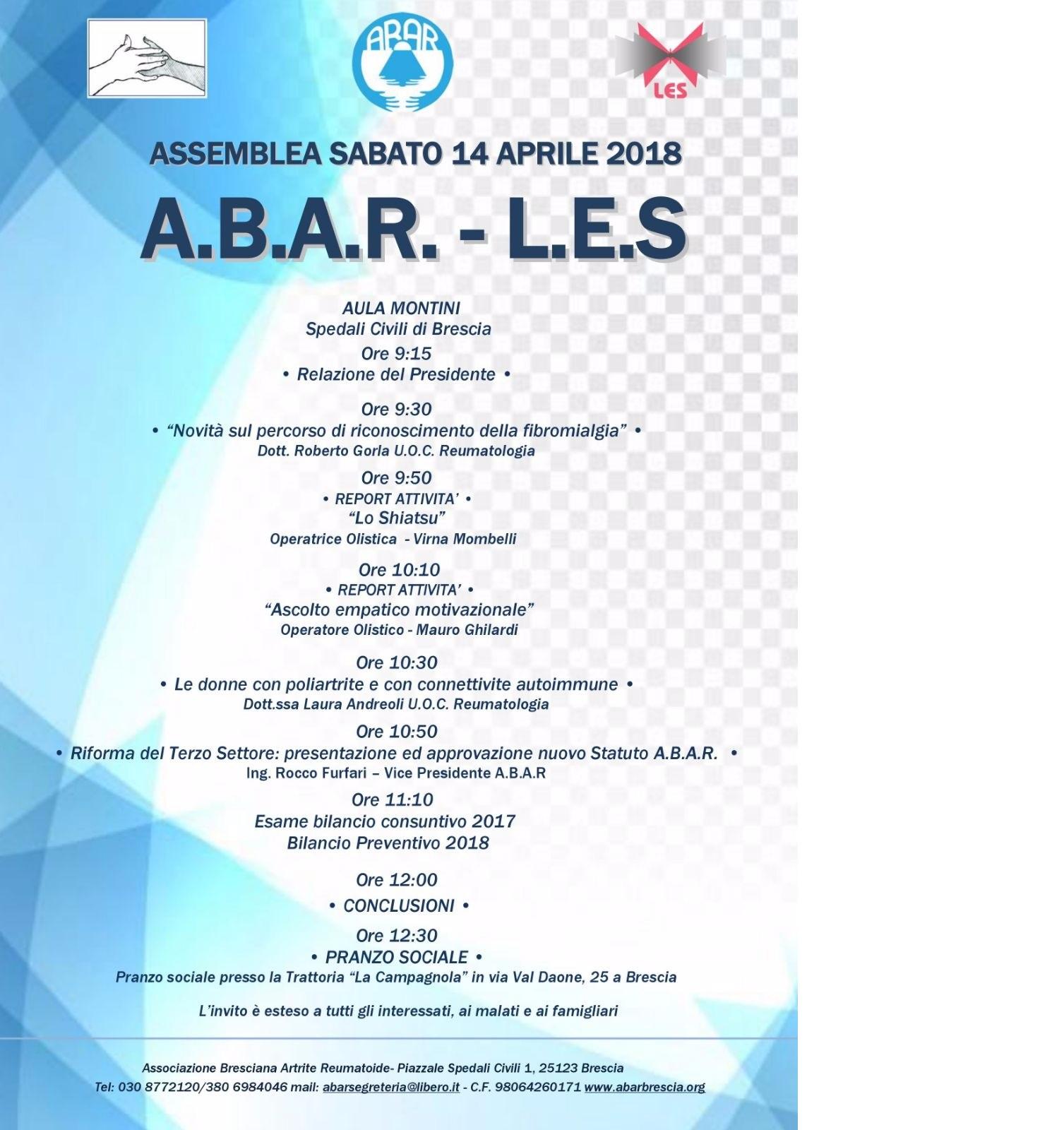 ABAR ASSEMBLEA 2018